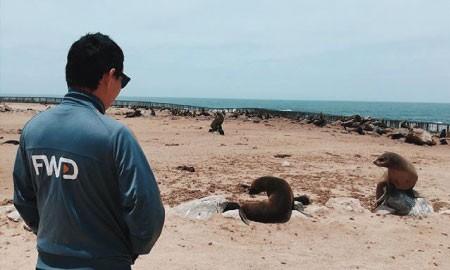 #BebaskanLangkah Cerita Mario Iroth Bertemu 'Teman-Teman' Istimewa di Trip Afrika Selatan