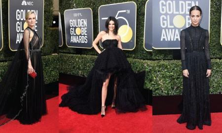 10 Gaun Terbaik di Red Carpet Golden Globes 2018