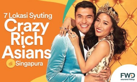 7 Lokasi Syuting Crazy RIch Asians di Singapura