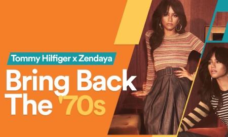 Golden Girl, Zendaya Bawa Gaya '70s di Koleksi Terbaru Tommy Hilfiger