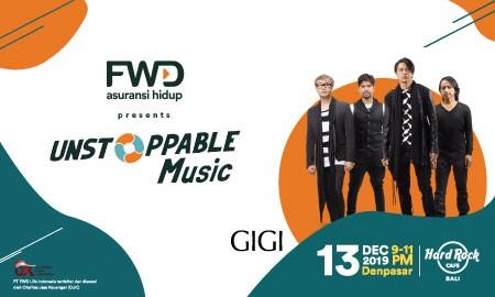 FWD Life kembali hadirkan Unstoppable Music di Bali bersama Gigi!