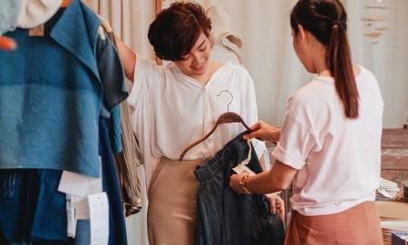 Percaya gak produk fashion ini dari limbah tekstil?