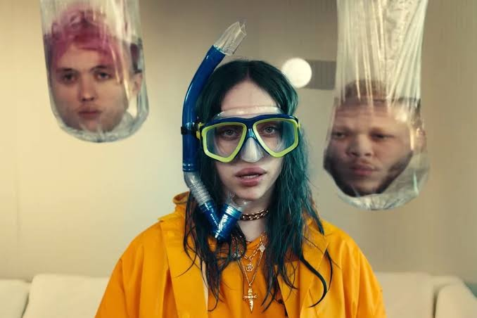 6.	Bad Guy – Billie Eilish ft Justin Bieber