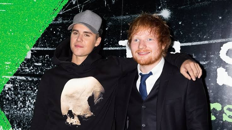 10.	I don't care – Ed Sheeran and Justin Bieber