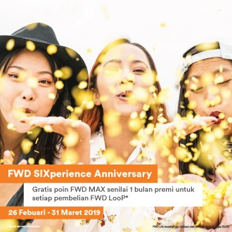 Happy SIXperience Birthday FWD!
