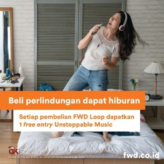 Nyanyi Bareng Kahitna di Unstoppable Music Jakarta cukup dengan miliki FWD LooP sekarang!