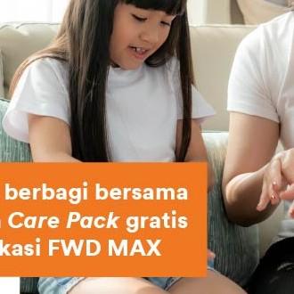 FWD Life berkolaborasi untuk berbagi bersama NUVO Hand Sanitizer, berikan Care Pack gratis untuk Nasabah pengguna aplikasi FWD MAX [SYARAT dan KETENTUAN]